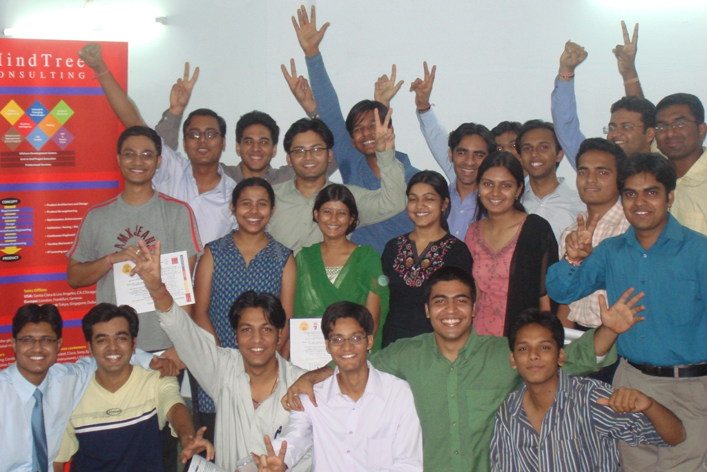 Campus Selection by MindTree in May'07