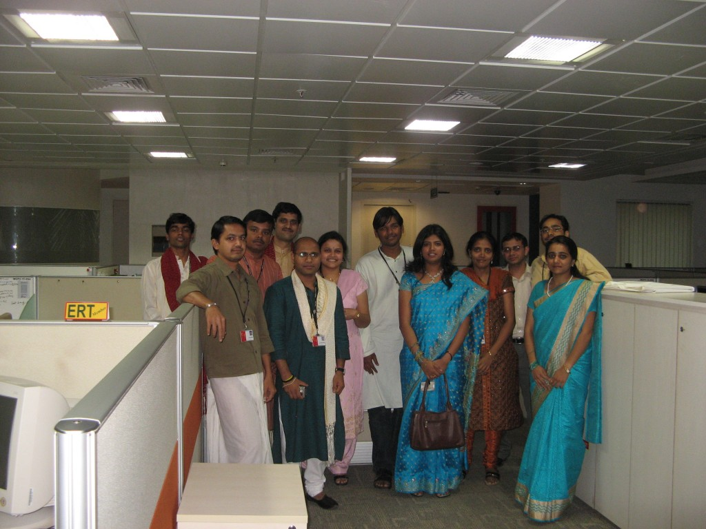 Celebrating Ethnic Day at MindTree